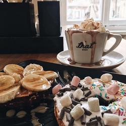 Bagel Brunch Frühstück Kaffee