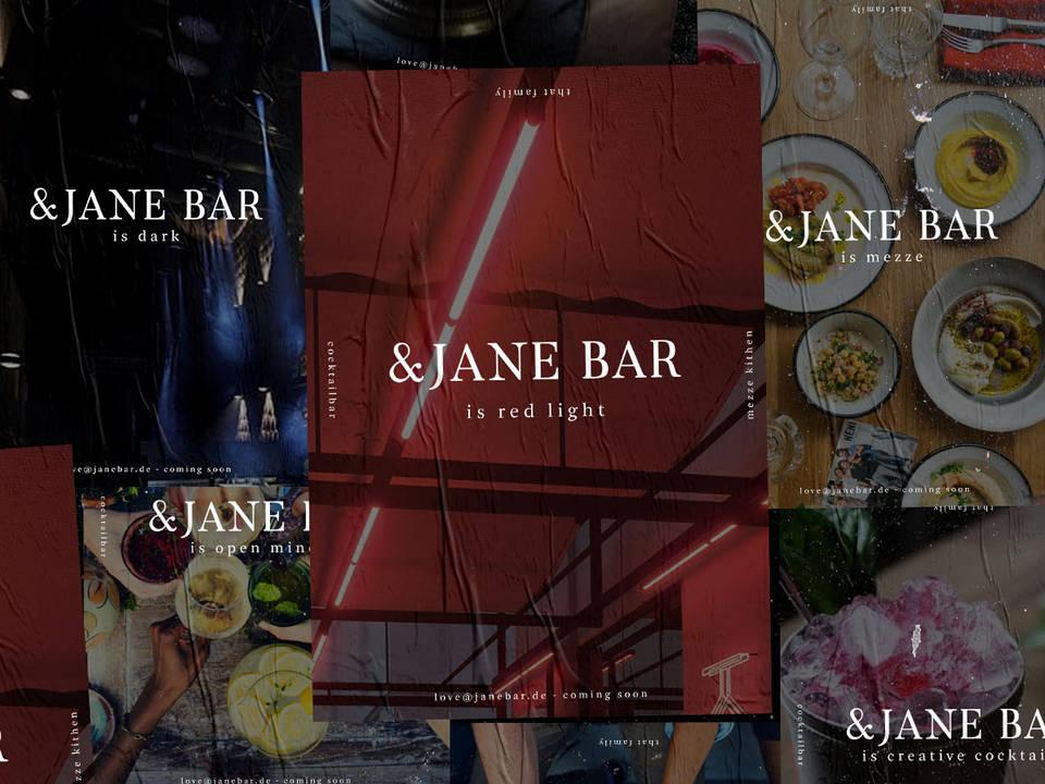 &JANE BAR Conception