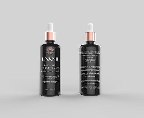 Beauty product marketing renderings