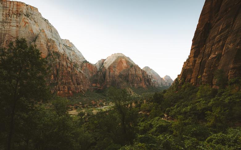 Zion Canyon Sunrise