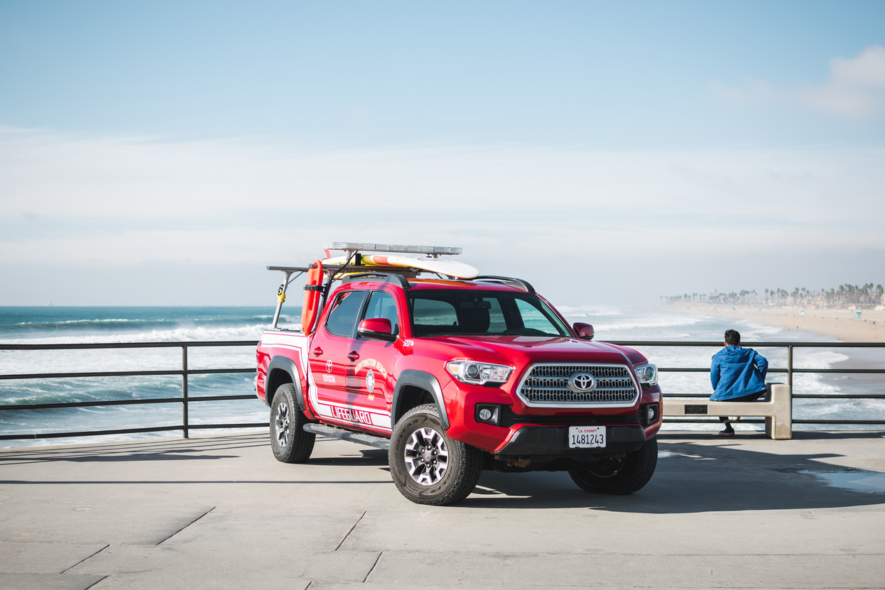 Lifeguard truck