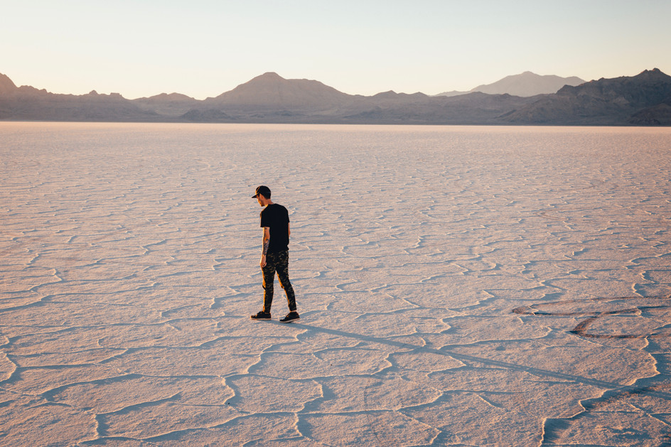 Wandering the Salt Flats