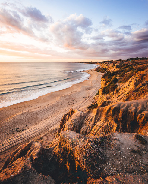 Crystal Cove Cliff