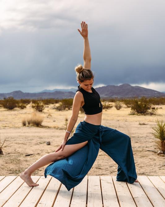 Ashley - Stormy Yoga
