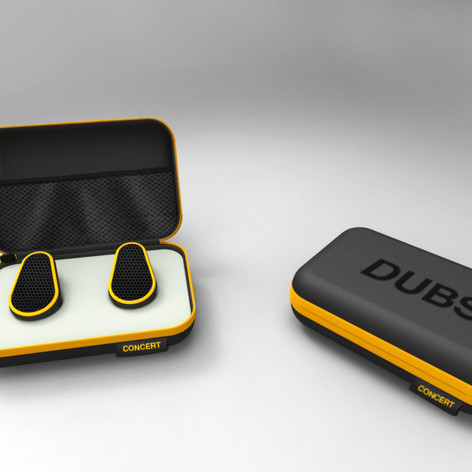DUBS earbud case