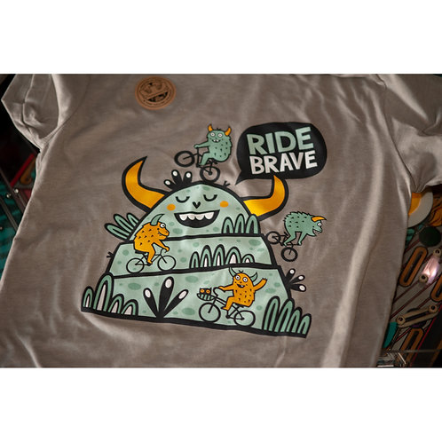 Brave Monsters by Allie Ogg Tee