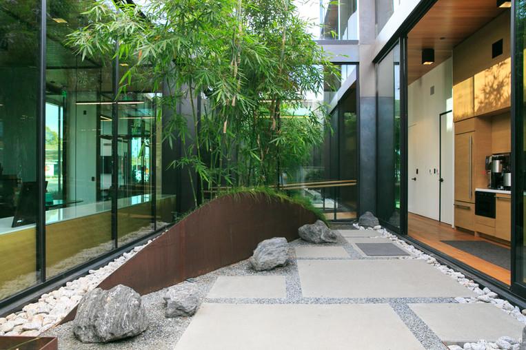 C3 Bank Interior Atrium