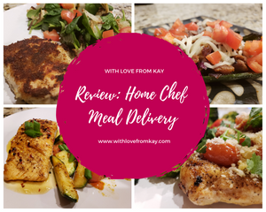 4 delicious dishes from Home Chef