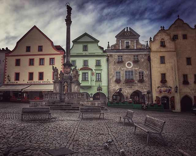 Happy Sunday #ceskykrumlov #czechrepublic #townsquare #europe2015 #travel #adventure #wanderyall