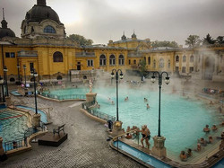 I wish it were cold enough to take a dip in thermal baths here in #Texas But for now, I'll settle fo