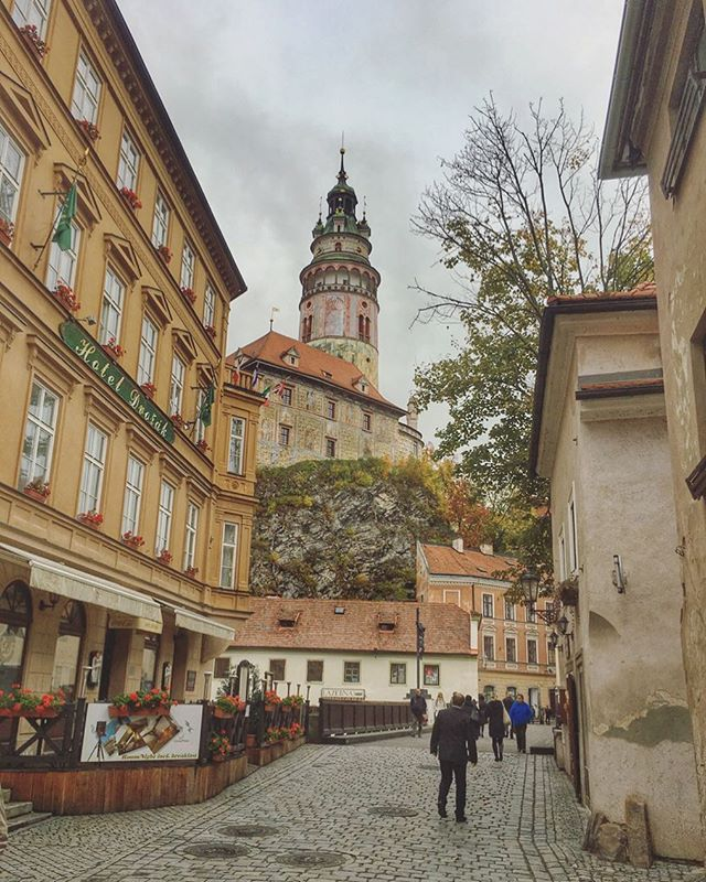 One of my favorite small villages of Europe Cesky Krumlov, Czech Republic
