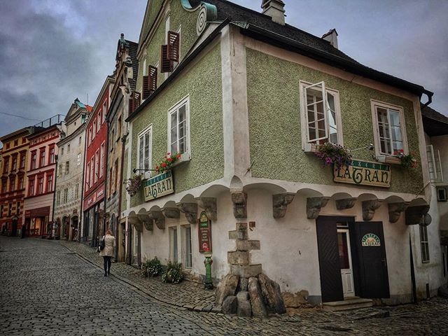At the corner of real life and fairytale #ceskykrumlov #czechrepublic #explore #travel #wanderyall #