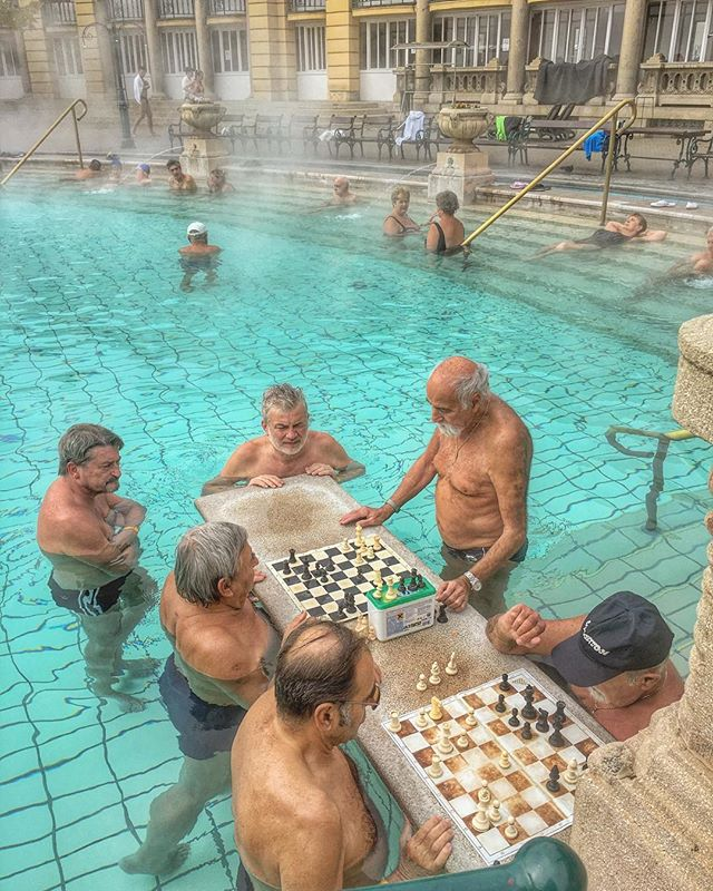 Who's been to Budapest_ Who's been to Budapest AND visited one of the thermal baths_ This was one of