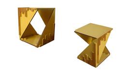 Mesa lateral Geométrica
