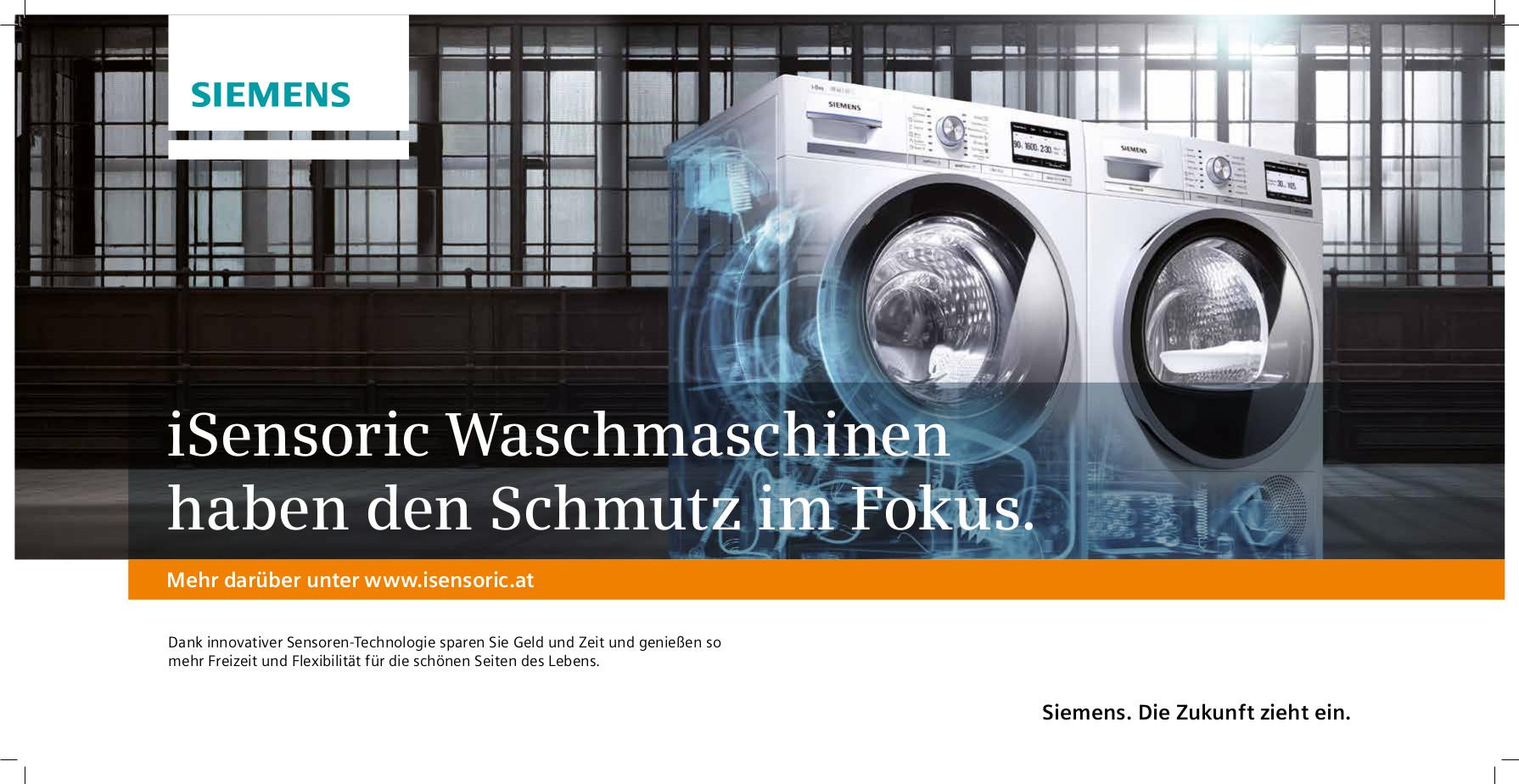 Händlerplakat für Siemens Aktion