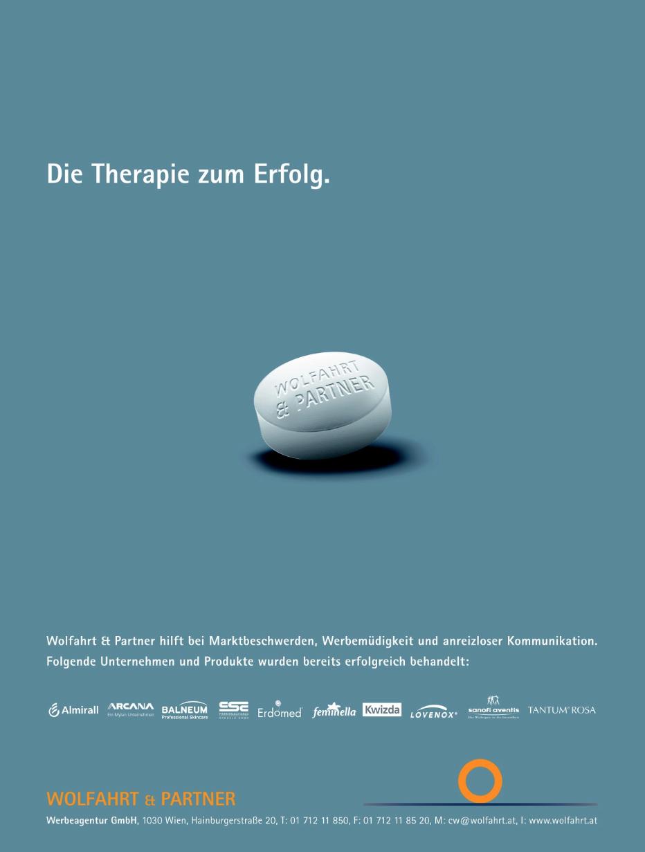 Wolfahrt & Partner - Eigeninserat