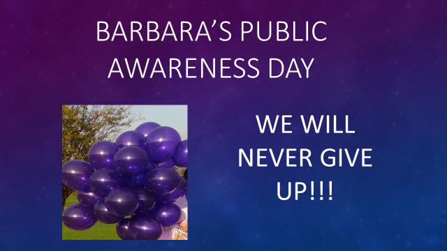 30 year dedication to Barbara Frame