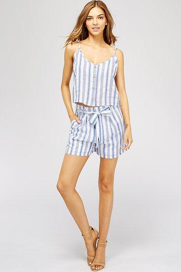 Miss Love Blue Stripe