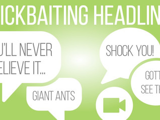 How to make your headline grab positive clicks.