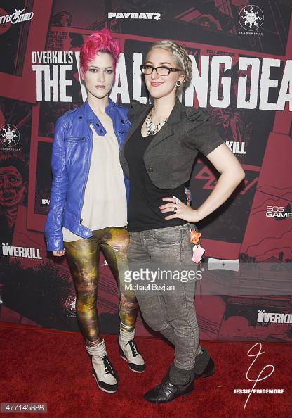 Jessie attending the Walking Dead Payday premiere  Photo by Michael Bezjian