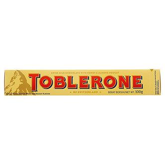 Chocolate Toblerone 100 Grs