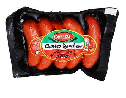 Chorizo De Pavo  Obertal 550 Grs.