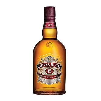Whisky Chivas Regal 750 Ml 12 A�os