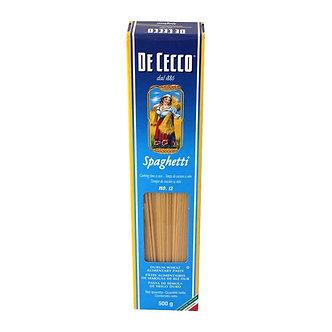 Pasta Spaghetti De Cecco 500 Gr
