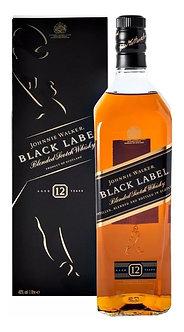Whisky J Walker Et/Negra 1000 Ml 12 A�
