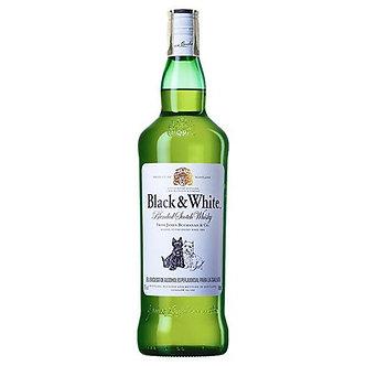 Whisky Black & White 750Ml