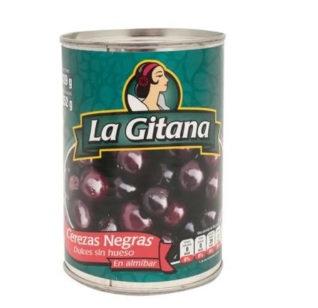 Cerezas Negras La Gitana 482 Gr