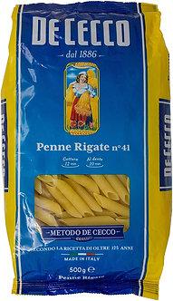 Pasta Penne Rigate De Cecco 500 Gr