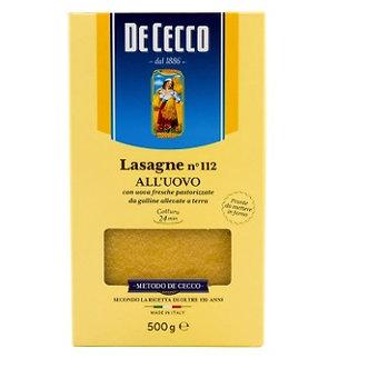 Pasta Lasagne De Cecco