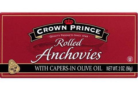 Filete De Anchoas Crown Prince 50 Grs