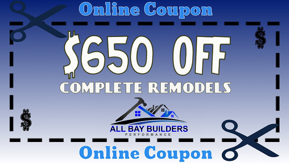 ALLBAYBUILDERS-COUPON - Made with Poster