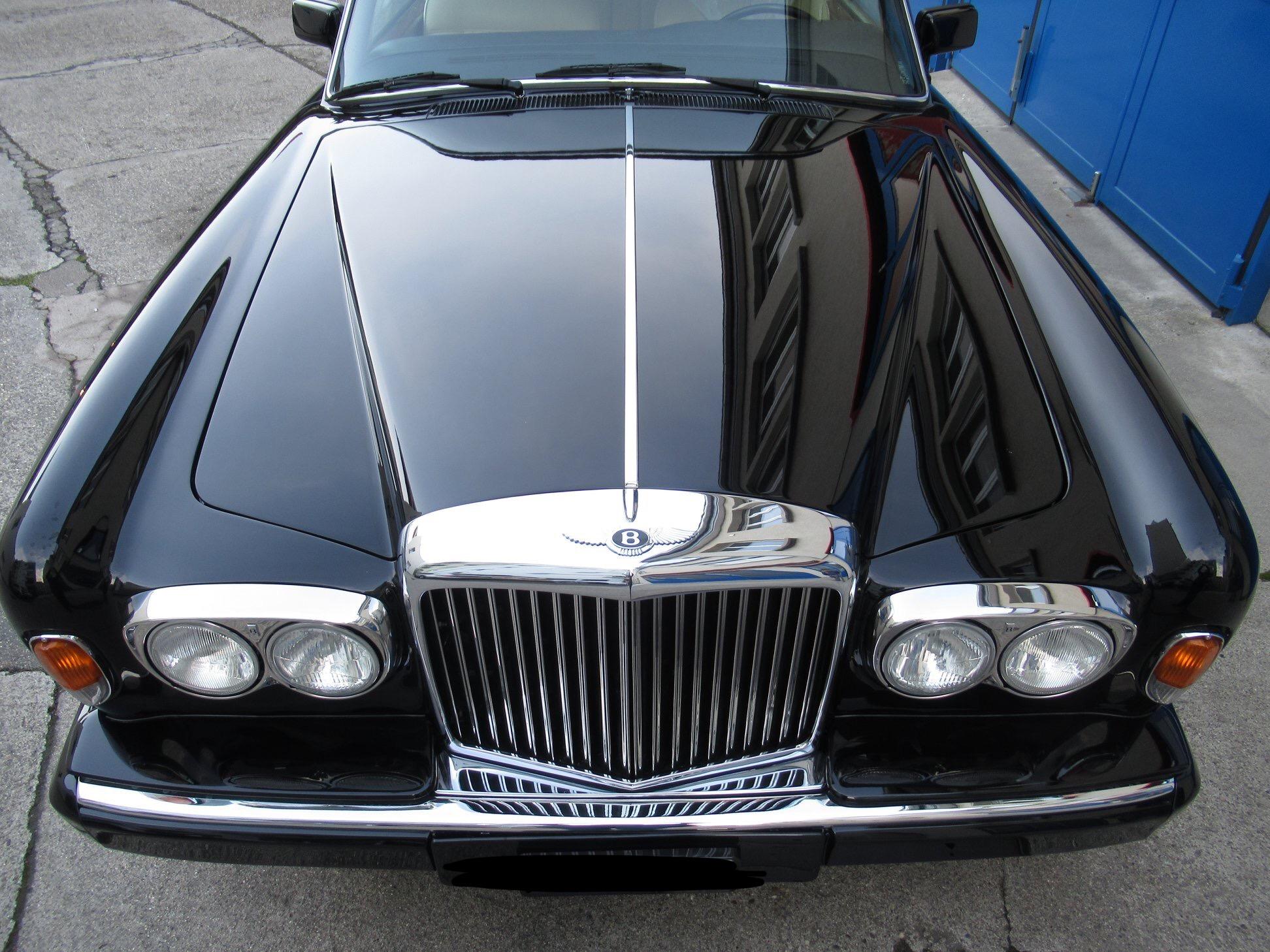 Bentley Oldtimer Chrom Stoßstange