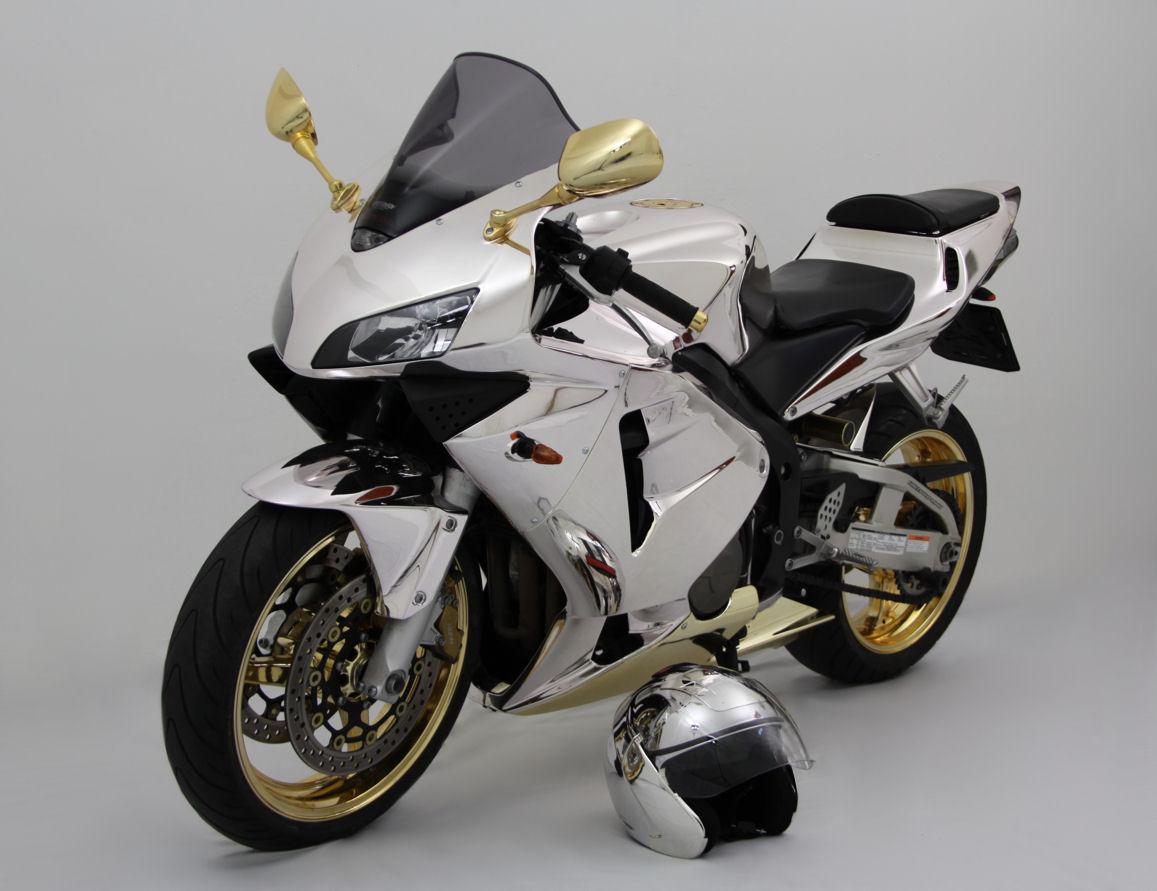 Chrom Motorrad