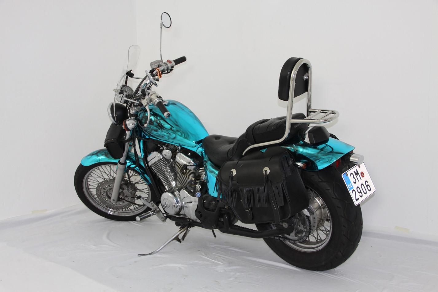 Motorrad Ice Blue