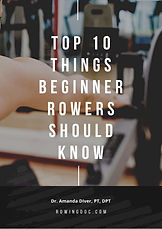 TOP 10 THINGS BEGINNER ROWERS SHOULD KNO