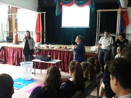 Taller de Educación Sexual Integral organizado por alumnos y docentes