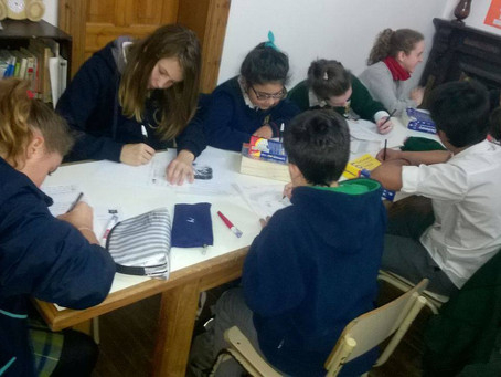 Encuentro de escritura creativa con colegios de la región