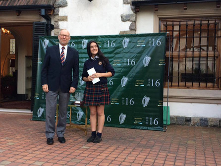 Argentine students awarded by Ireland