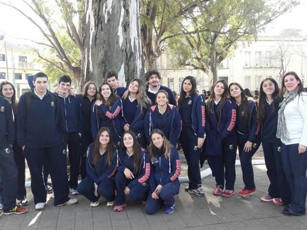 Los alumnos de 6to año de Secundaria visitaron la 1° Feria Federal del Libro organizada en nuestra c