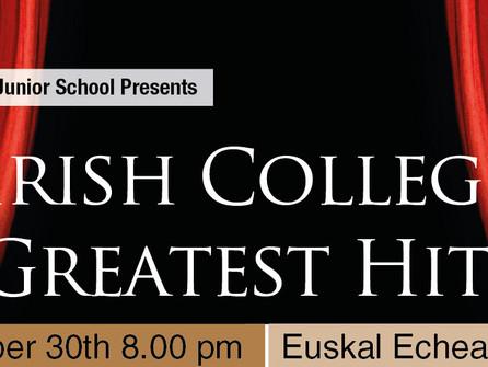 """""""Irish College Greatest Hits"""", un Concert para disfrutar todos los Concerts"""