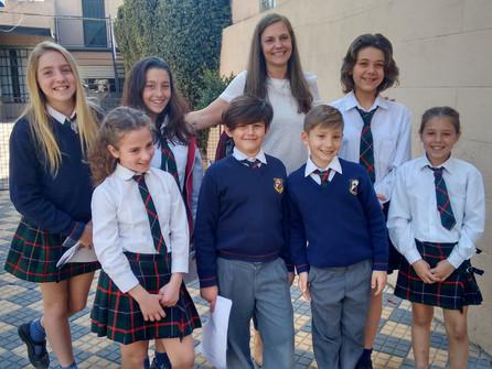 Interschool Spelling Contest