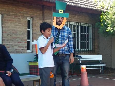 Festejamos St. Patrick's en el Irish College