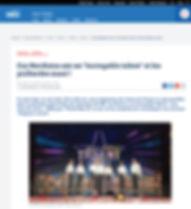Article France Bleu Nord PMQ dans l'émission la France a un incroyable talent novembre 2016