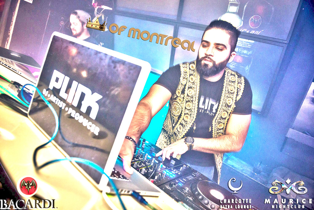 DJ, Live DJ, DJ Plink, DJ in Montreal, DJ in Quebec, DJ in Canada