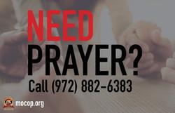Need Prayer Banner