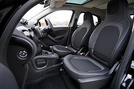 Sport-Auto-Innenraum